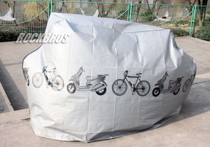 Free Shipping Bike Bicycle Dust Cover Cycling Rain And Dust Protector Cover Waterproof Protection Garage(China (Mainland))