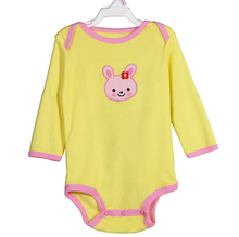 100% cotton One Piece Baby Boy Baby Girl Long Sleeve onesie Bodysuit Brand New TOP QUALITY