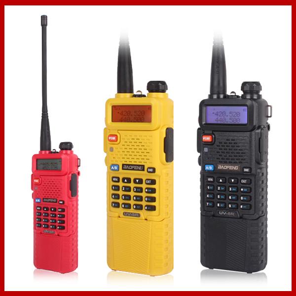 Upgrade Baofeng UV5R Radio Vhf Uhf Dual Band Baofeng II For Two Way Radio Walkie Talkie With Free Earpiece Baofeng Uv-5r 3800mah(China (Mainland))
