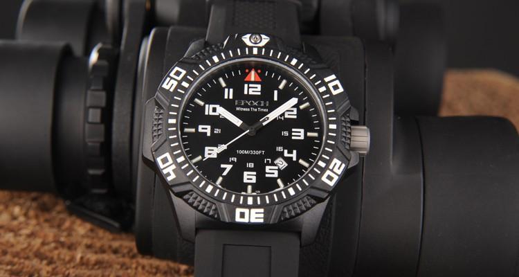 Epoch 6024G Rotable Bezel Tritium Luminous Sport Watch