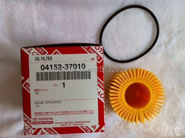 Toyota oil filter 0415237010 04152yzza6 used for toyota corolla yaris vitz prius rav 4