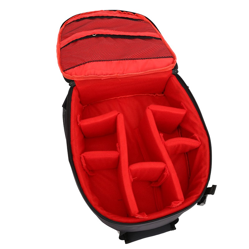 image for Top Quality Reflective Photo Camera Backpack Lens Tripod Bag Case For