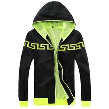 Fashion 100% High Quality Sport Men Jacket Coats, Men Causal Hooded Outdoor Jacket,New Men Thin Windbreaker Zipper Coats Outwear(China (Mainland))