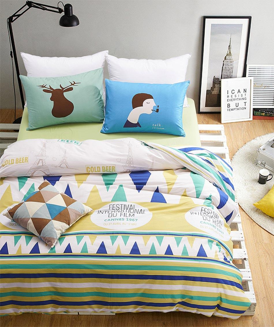 enfants double ensembles de literie promotion achetez des enfants double ensembles de literie. Black Bedroom Furniture Sets. Home Design Ideas
