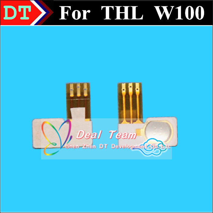 100% New Original Power On/Off Button Flex Cable For THL W100 W100S Cell phone Free shipping