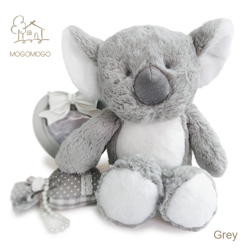 29cm hand-made cute grey koalas plush toys mainly for famous brand(China (Mainland))