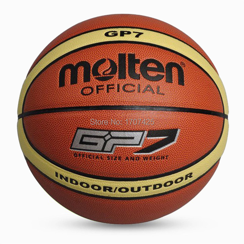 2015 New Brand PU basketball games balls offcial size and weight molten basketballs GP7 indoor or outdoor balls Free Shipping(China (Mainland))