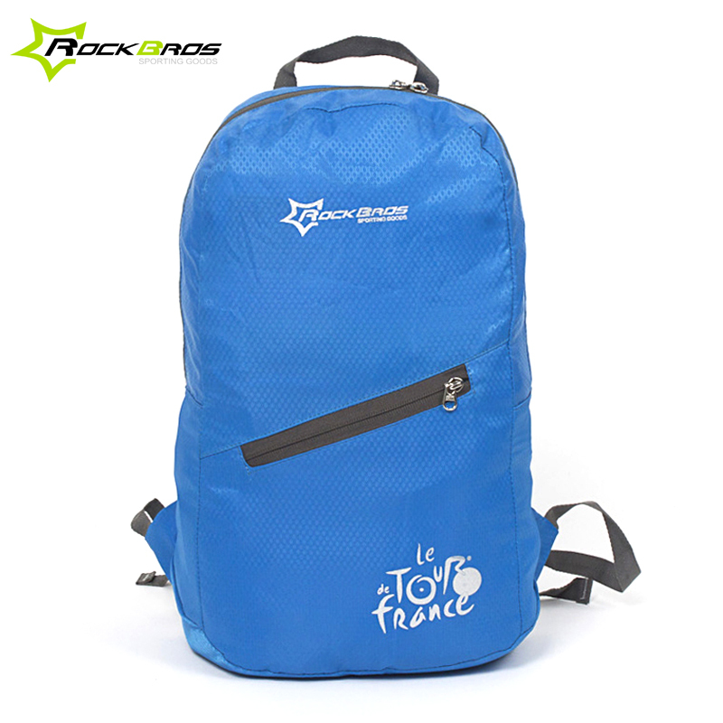 RockBros Tour de France Leisure Outdoor Cycling Bike Bicycle Waterproof Ultra-thin Soft Breathable Portable Folding Backpack Bag(China (Mainland))