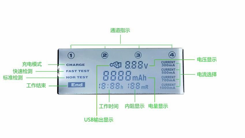 ถูก L iitokala lii500จอแอลซีดีที่ชาร์จสำหรับ3.7โวลต์18650 26650 18500แบตเตอรี่ลิเธียมทรงกระบอก, lii-500 1.2โวลต์AA AAA NiMHแบตเตอรี่ชาร์จ