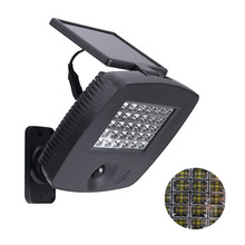 200LM 30 LED Solar Powered Ultra Bright PIR Motion Sensor Garage Garden Yard Wall Light Security Night Lamp for Outdoor Travel(China (Mainland))
