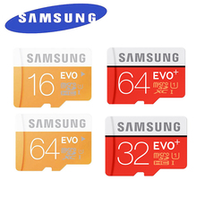 Buy Samsung EVO+ micro sd card 32gb 128gb 64gb 16GB Class 10 SDHC SDXC 80mb/s Support Official Verification EVO card 48MB/S for $13.10 in AliExpress store