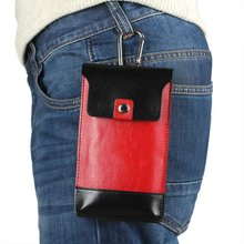 Outdoor Man Belt Clip Leather Case Cell Phone Pouch Climbing Cover BlackBerry Leap,For Priv Venice,ZTE Blade V7 - Elife Kimi store