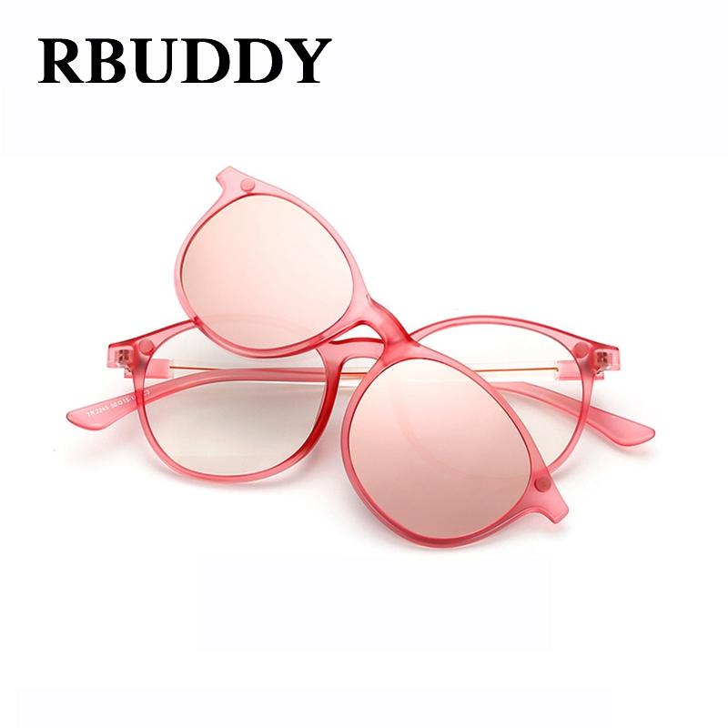 Anium Eyeglass Frames With Magnetic  online get round glasses anium clip aliexpress com