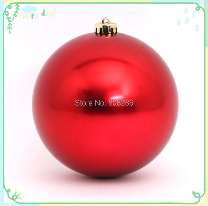 Europe Festival Home Decoration 12cm Hanging Plastic Ball Christmas Decoration Electroplating Ball(China (Mainland))