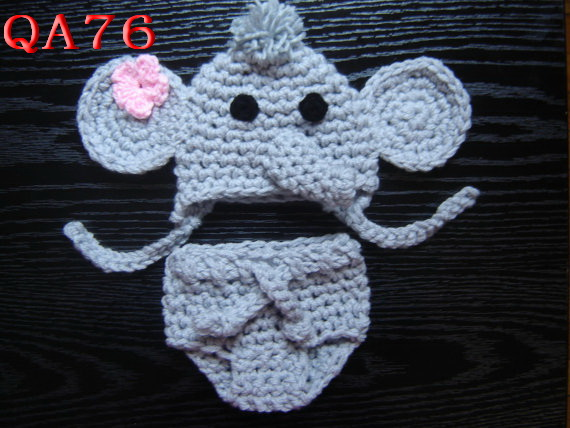 Free Crochet Pattern For Elephant Diaper Cover Traitoro For