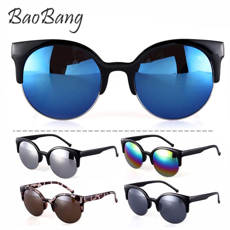 Гаджет  New Brand designer women cat eye sunglasses Stylish Semi-Rimless women