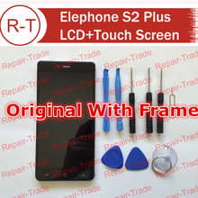 Elephone S2 Plus LCD Screen Original 5.5 inch lcd display+touch Screen Panel Replacement For Elephone S2 Plus Cellphone