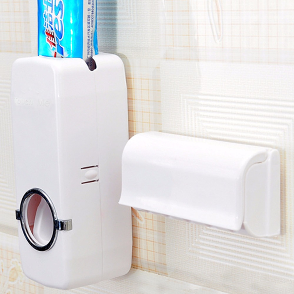 2016 High Quality Automatic Toothpaste Dispenser and Brush Holder Touch A2 FG(China (Mainland))