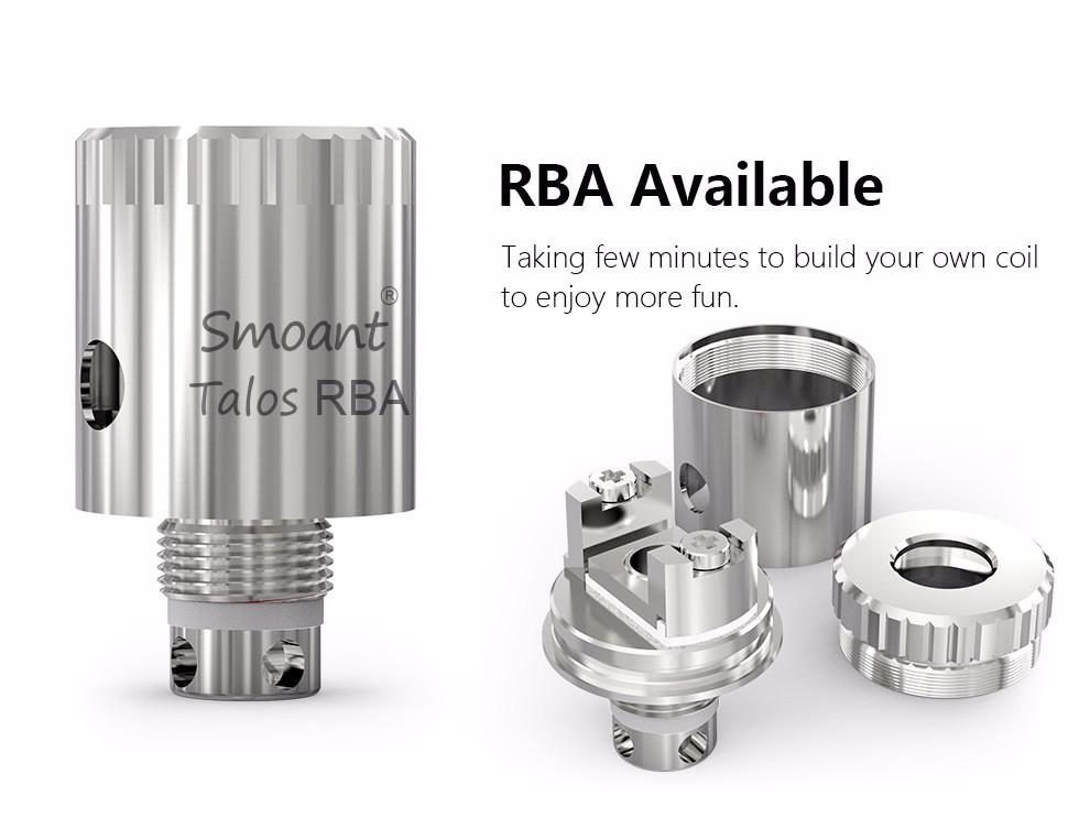 ถูก ถังบุหรี่อิเล็กทรอนิกส์เครื่องฉีดน้ำVaporizer Vapeกล่องสมัยClouporถังRBAบุหรี่อิเล็กทรอนิกส์Smoant Talos V1 Eมอระกู่สเปรย์X1071