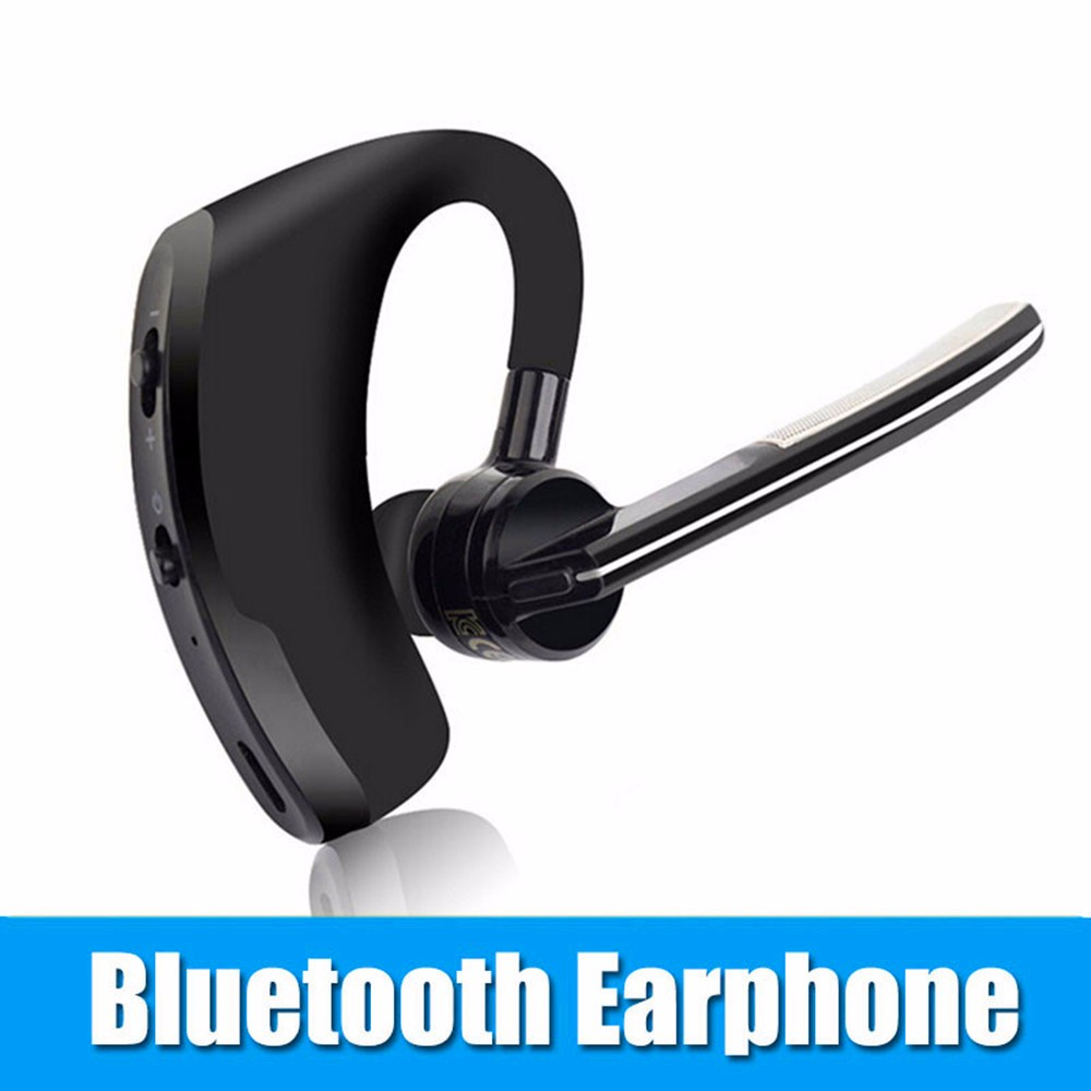 Newest V8 Bluetooth earphone V4.0 Business Stereo Earphones With Mic Wireless Universal Voice Report Number Handfree earphone