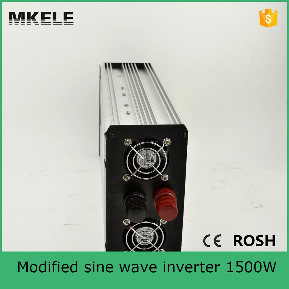 Фотография MKM1500-242G low cost nverter power consumption 1500w power inverter system dc to ac 24vdc 220vac inverters for home