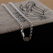 Buy GZ 3MM Link Chain Women Men 100% 925 Silver Accessorice S925 Thai Solid Silver Jewelry Making Necklaces for $18.99 in AliExpress store