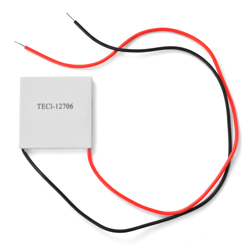 1x TEC1-12706 Heatsink Thermoelectric Cooler Peltier Plate Module 12V 60W TE609(China (Mainland))
