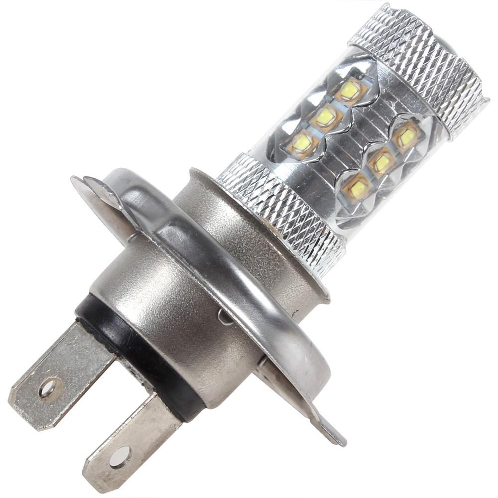 20PCS 80W H4 Osram Chip High Bright 16 x LED Car Light Fog lamp with 360 Degrees(China (Mainland))