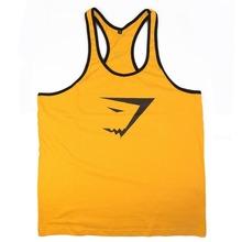New Brand Gym Shark Singlets Mens Tank Tops Stringer Bodybuilding Equipment Fitness Men s GYM Tank