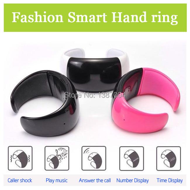 NEW Smart phone companion worn Bluetooth Caller ID Watch vibration function call intelligent smart wristband hand ring(China (Mainland))
