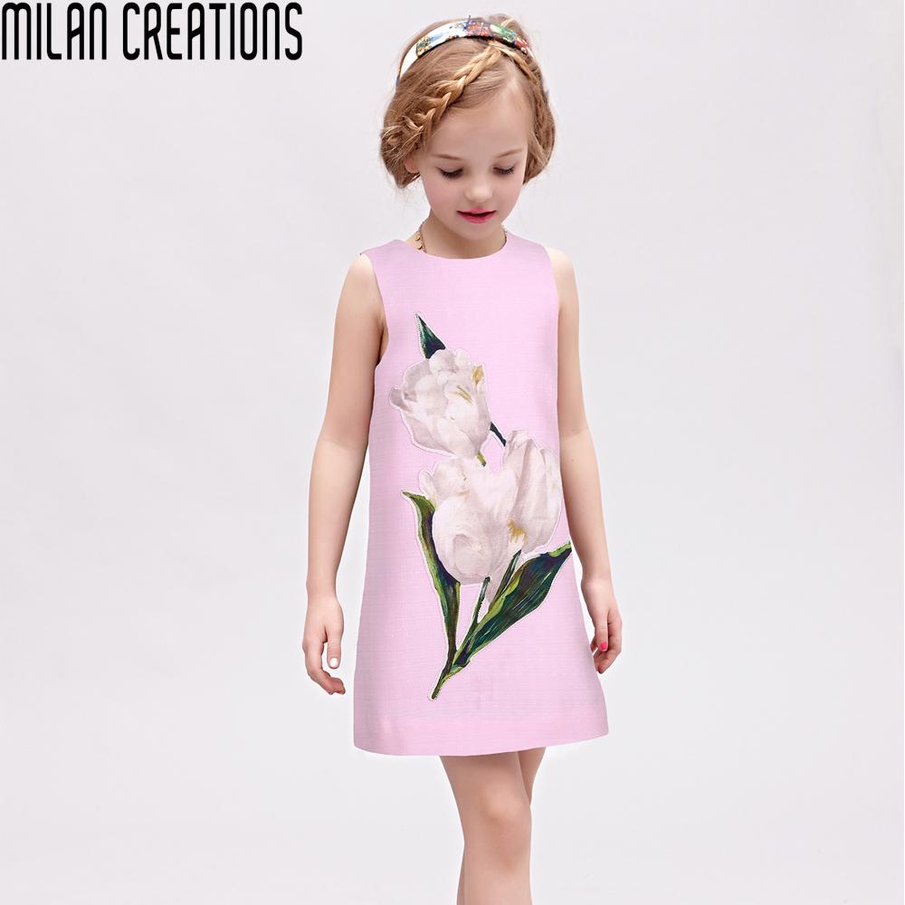 girls dresses summer 2016 brand princess dress girl. Black Bedroom Furniture Sets. Home Design Ideas