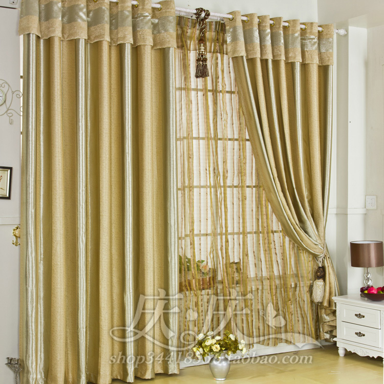 8 Free delivery Best Seller Hot Sale Senior 6m Thickened Environmental Blackout Curtains 6 Kinds Of designs 2.7m*6m(China (Mainland))