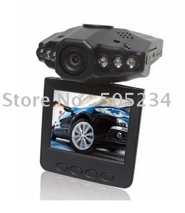 """Car Camera,120 Degrees Wide Angle Digital Car Video Recorder w/ IR Night Vision/Motion Detection/2.5"""" LCD 270 Degrees Rotation"""
