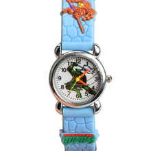 New Teenage Mutant Ninja Turtles Style Kids Watches Analog Quartz Wrist Watch Skyblue for Children