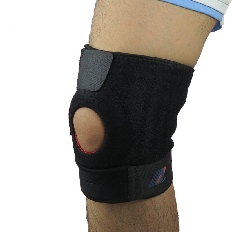 2 knee support brace patella stabilizer sizes large to X-large professional knee support pad protector(China (Mainland))