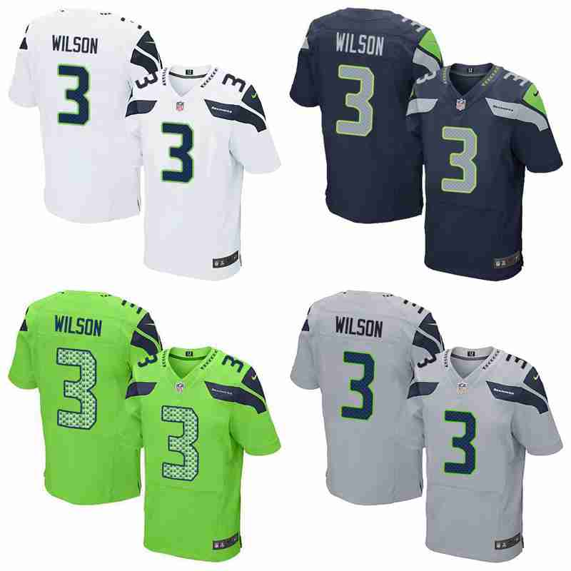 Top quality Russell Wilson for YOUTH KIDS Seahawk(China (Mainland))