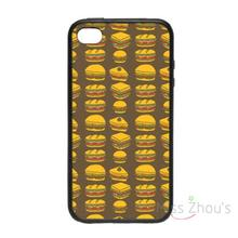 For iphone 4/4s 5/5s 5c SE 6/6s plus ipod touch 4/5/6 back skins mobile cellphone cases cover Club Sandwich Pattern Abstract