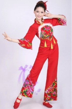 DB23444 traditional chinese dance costumes-3