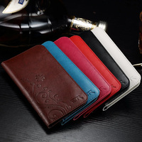 Fashion Embossed Flower Pattern PU Wallet Phone Pouch Cover For Xiaomi 5S Plus 5.7