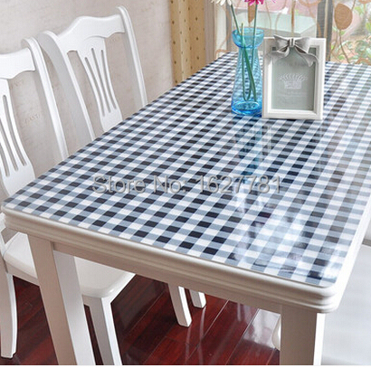 Roll up shipping soft table covers PVC Thick 1.0 MM tablecloth Square table cloth for christmas/wedding/home/hotel supplies(China (Mainland))