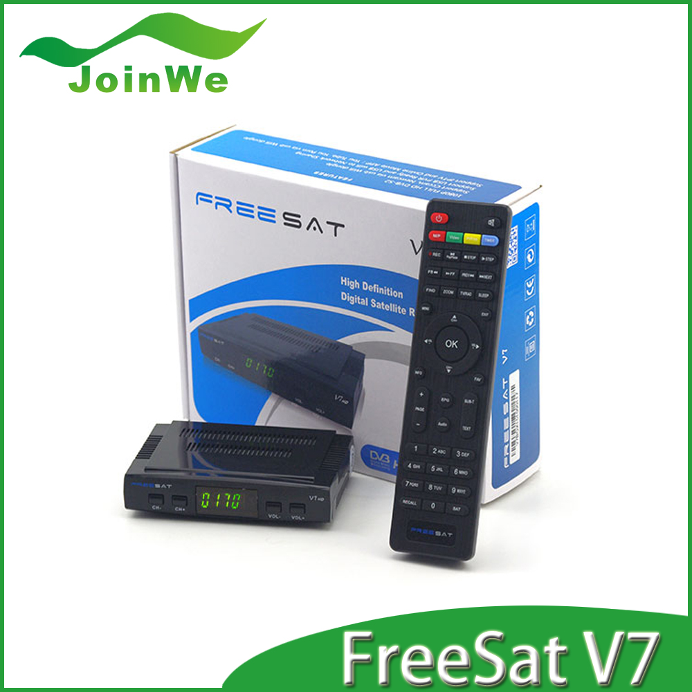 FREESAT V7 Satellite Receiver 1080P FULL HD DVB-S2 Support Cccam Newcam Free Shipping(China (Mainland))