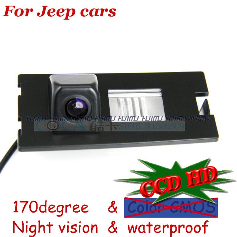 wireless wire HD Car Rear View Reverse backup Camera for sony CCD Jeep Cherokee/Compass/ parking assist wide angle PAL/NTSC(China (Mainland))