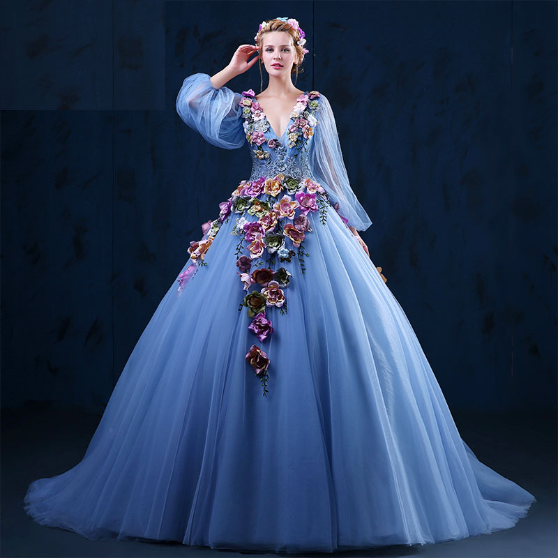 Women dress picture more detailed picture about women for Denim wedding dresses for sale