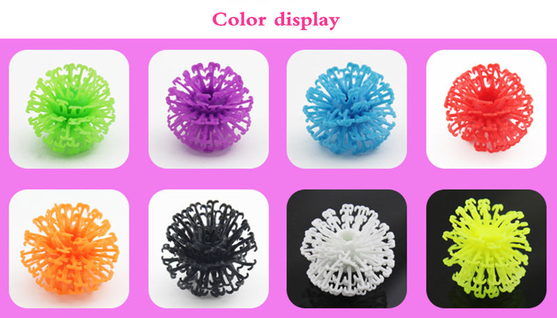 400Pcs Kid Creative Handmade Magic Puffer Ball Accessories Build Mega Pack DIY Assembling Spot Best Block Toys For Children Gift