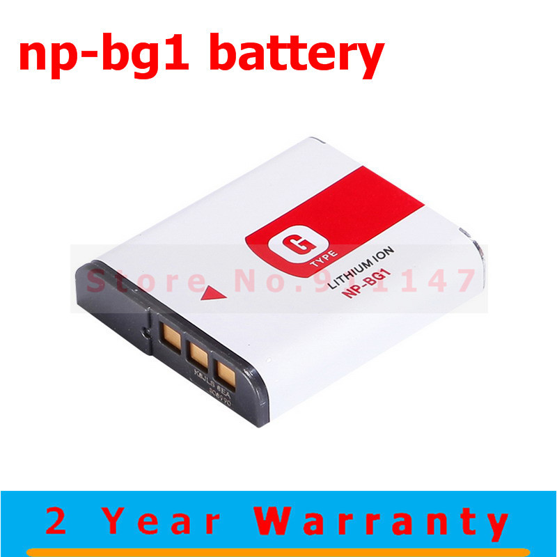 Original NP BG1 NP BG1 Camera Battery For SONY Cyber shot DSC H3 DSC H7 DSC