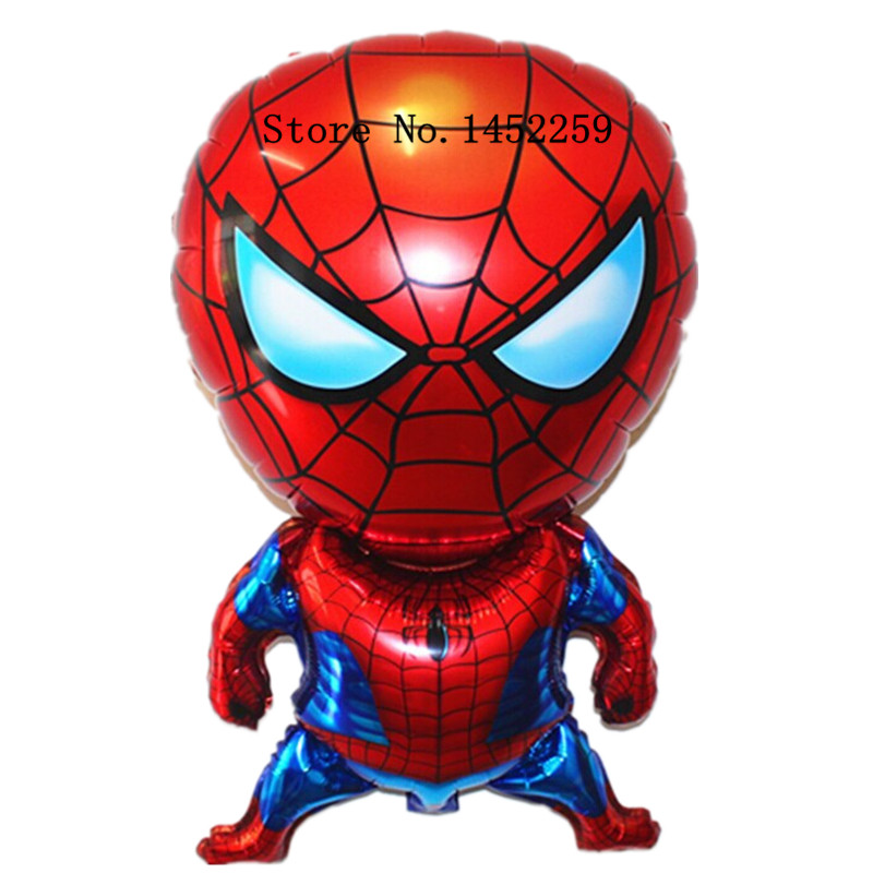 Гаджет  Free shipping 5pcs-lots aluminum balloons party balloons decorated and furnished Spiderman children