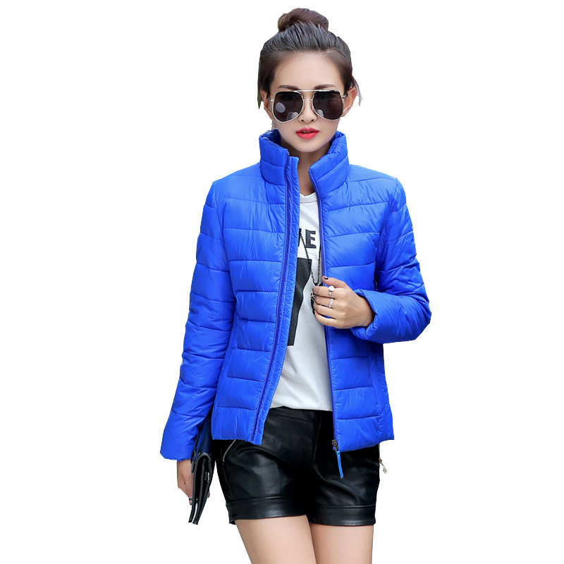 2016 Fashion Women Winter Down jacket Big female ultra-thin feather padded short coat Coats Hooded Jacket Splicing Slim Coat(China (Mainland))