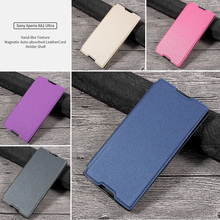"""Buy Sony Xperia xa1 Ultra Case Sand-like Texture Magnetic Auto-absorbed TPU Leather Cover Sony Xperia XA 1 Ultra 6.0"""" Funda for $5.86 in AliExpress store"""