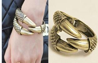 fashion punk style personality nail bracelet jewelry for women S5394