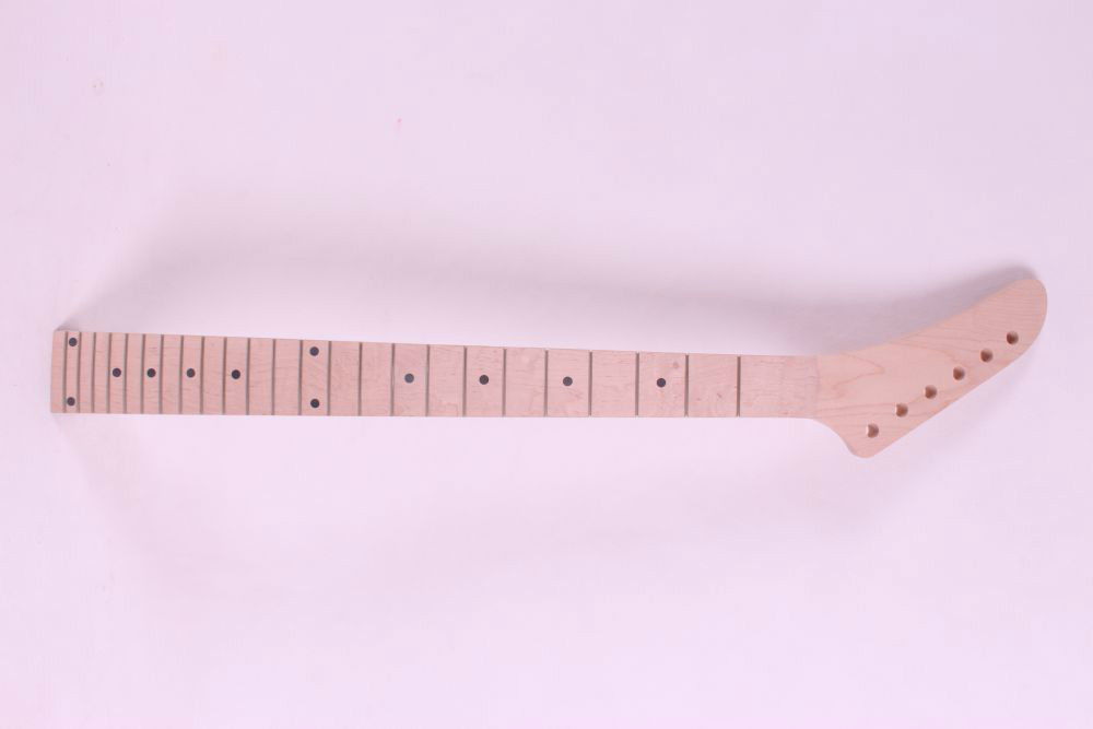 one Top grade unfinished electric guitar parts , Guitar Neck maple made and maple fingerboard 24 fret<br><br>Aliexpress